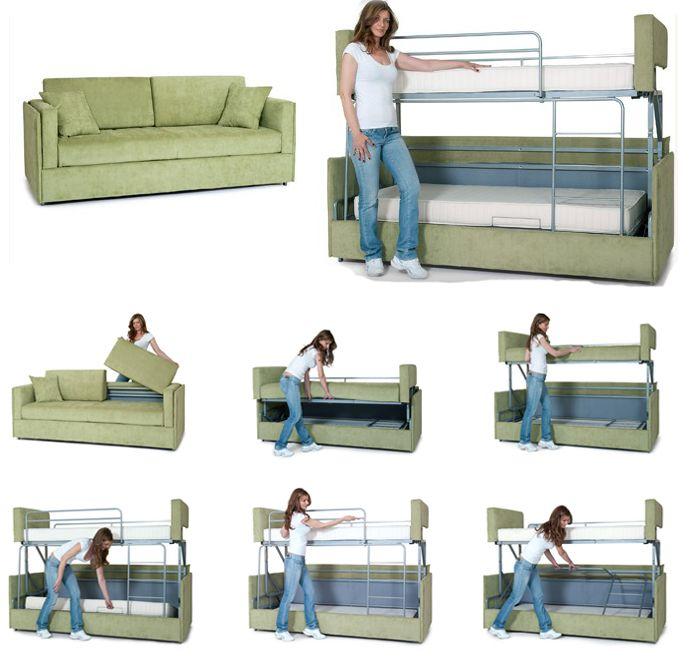 proteassofabunkbed1 Cool Ideas Pinterest Bunk bed Tiny