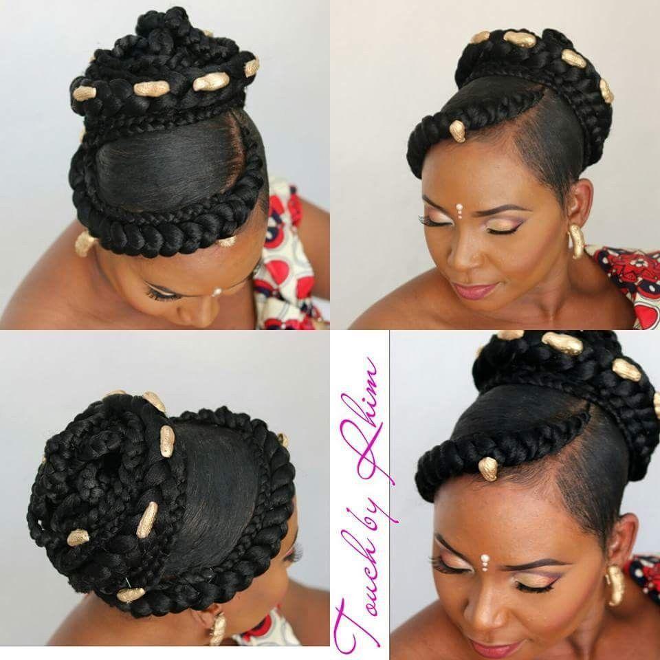 Le Plus Recent Gratuit Coiffures De Mariage Africaine Strategies Coiffure Africaine Maria Modele De Chignon Coiffure Africaine Coiffure Mariage