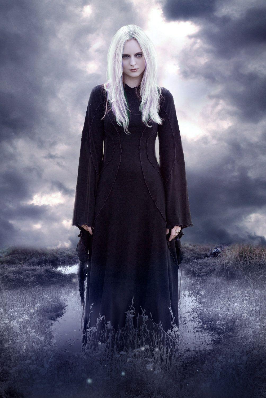 Long black dress savannah desert dress custom made halloween