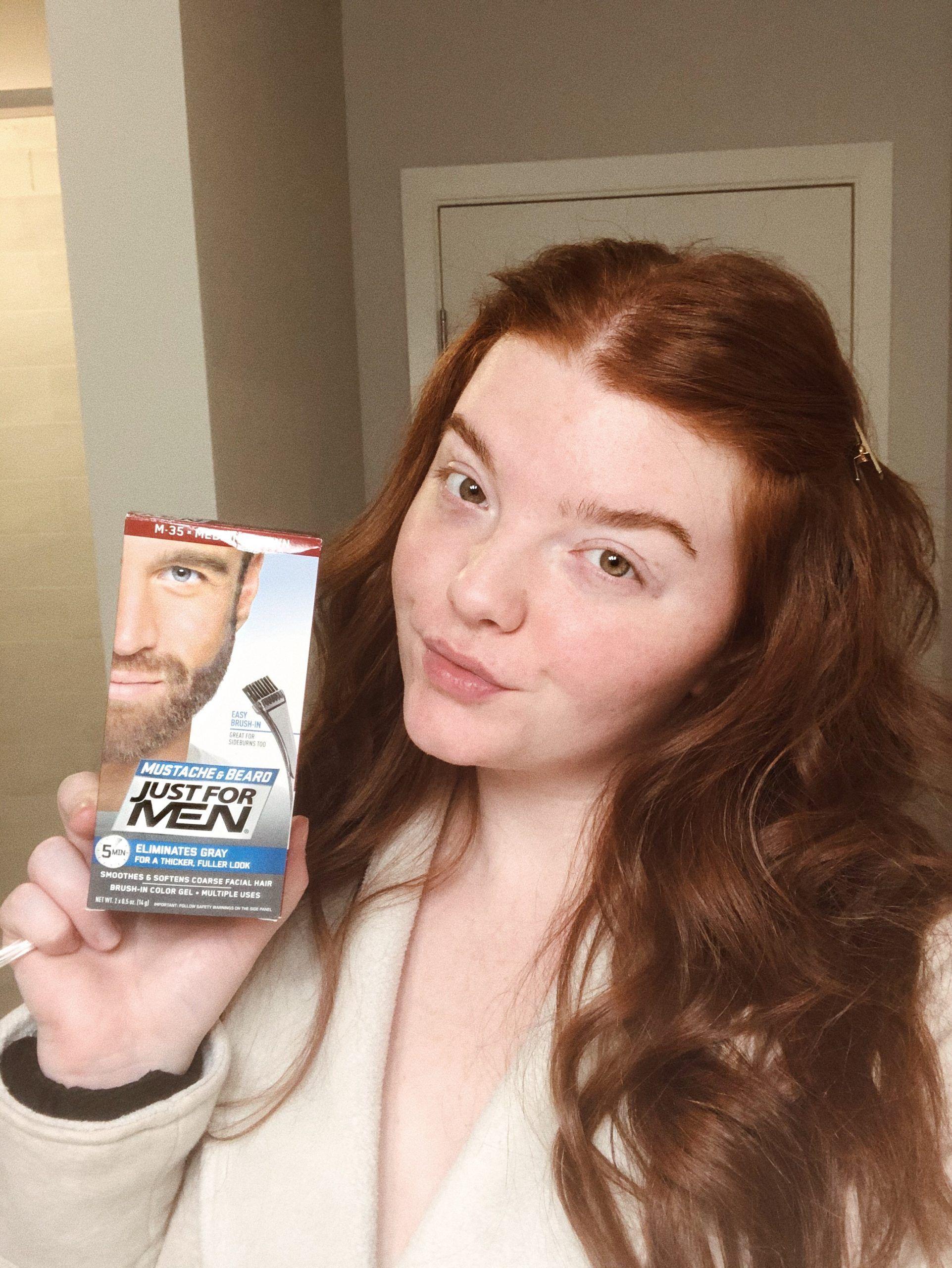How I Tint My Brows At Home Radiantlyrae In 2020 Dye Eyebrows Dark Eyebrows Best Eyebrow Tint