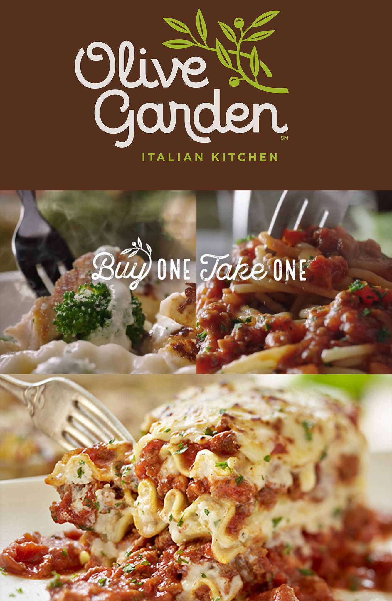 Olive Garden Buy One Take One Deal Is Back Olive Gardens