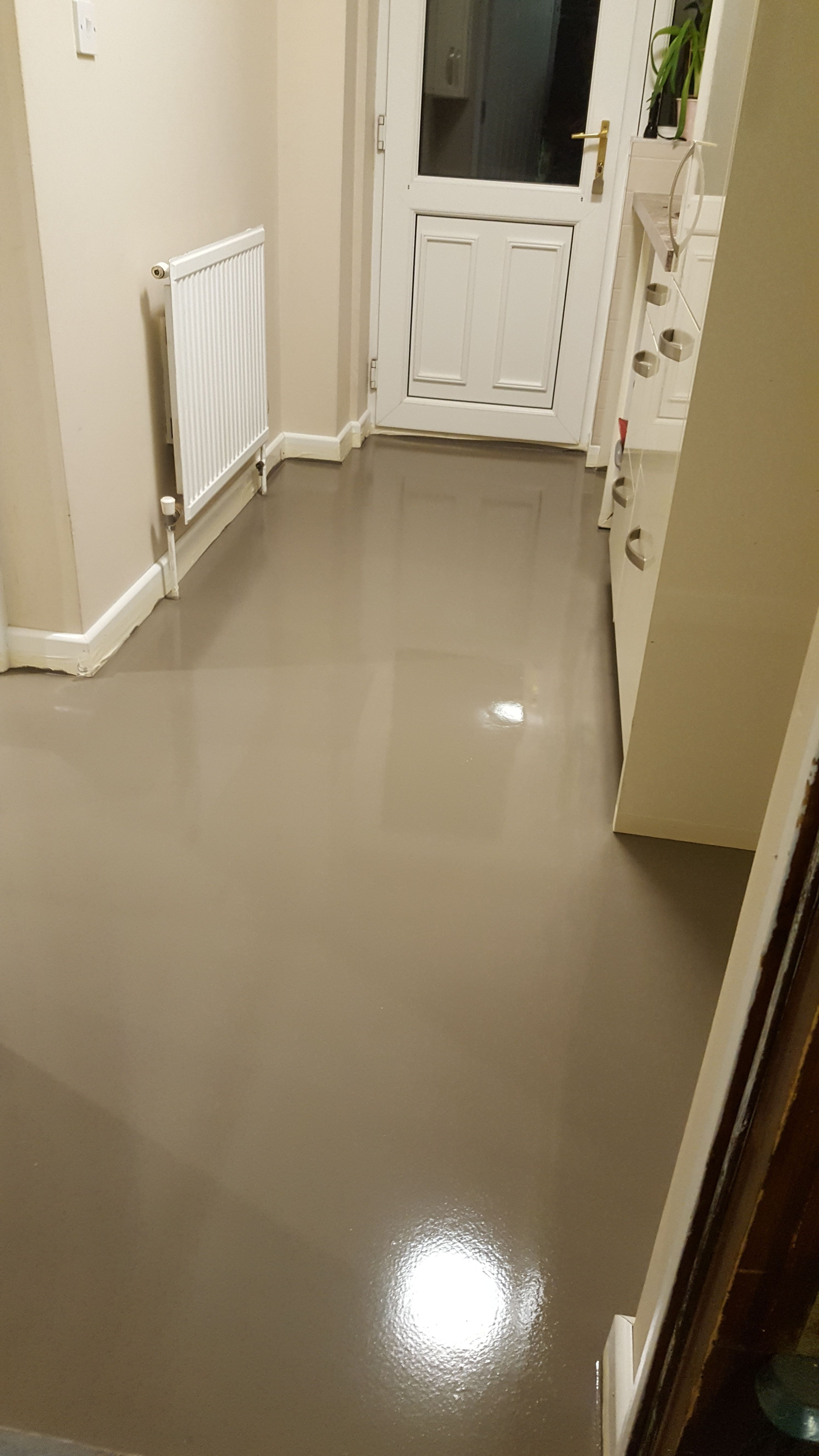 Screed Laid To 6mm Thickness Over 6mm Fg1 Rated Ply Boarding This