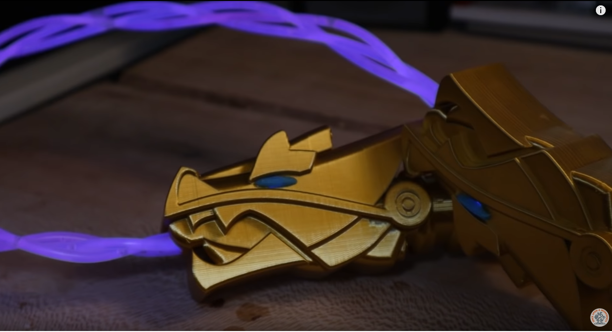 Pin On Diy Lego Ninjago Golden Weapons