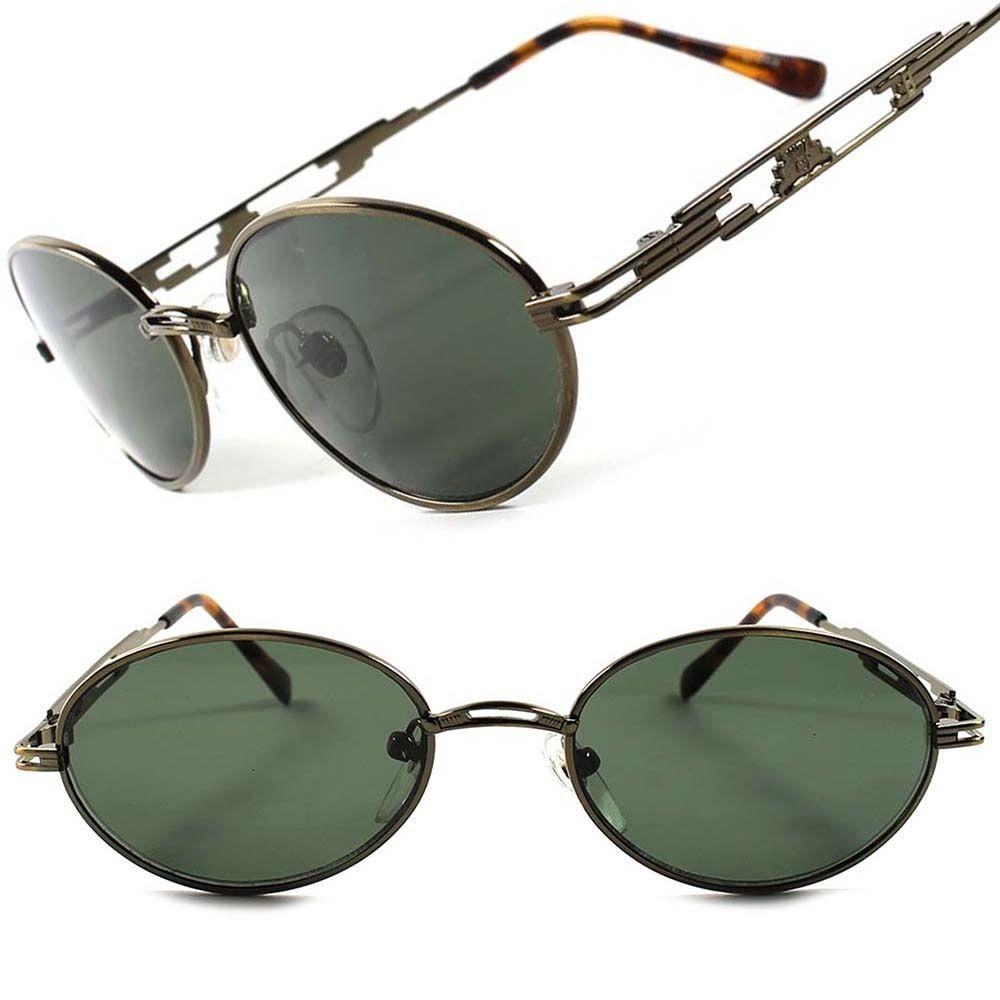 a7cc5c893f26 Old School 50 s 60 s Vintage Retro Classic Mens Womens Oval Round  Sunglasses C64