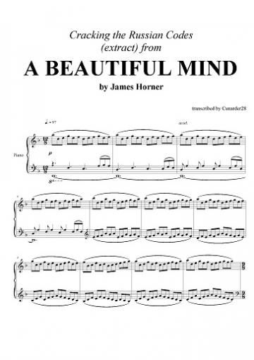 a beautiful mind music