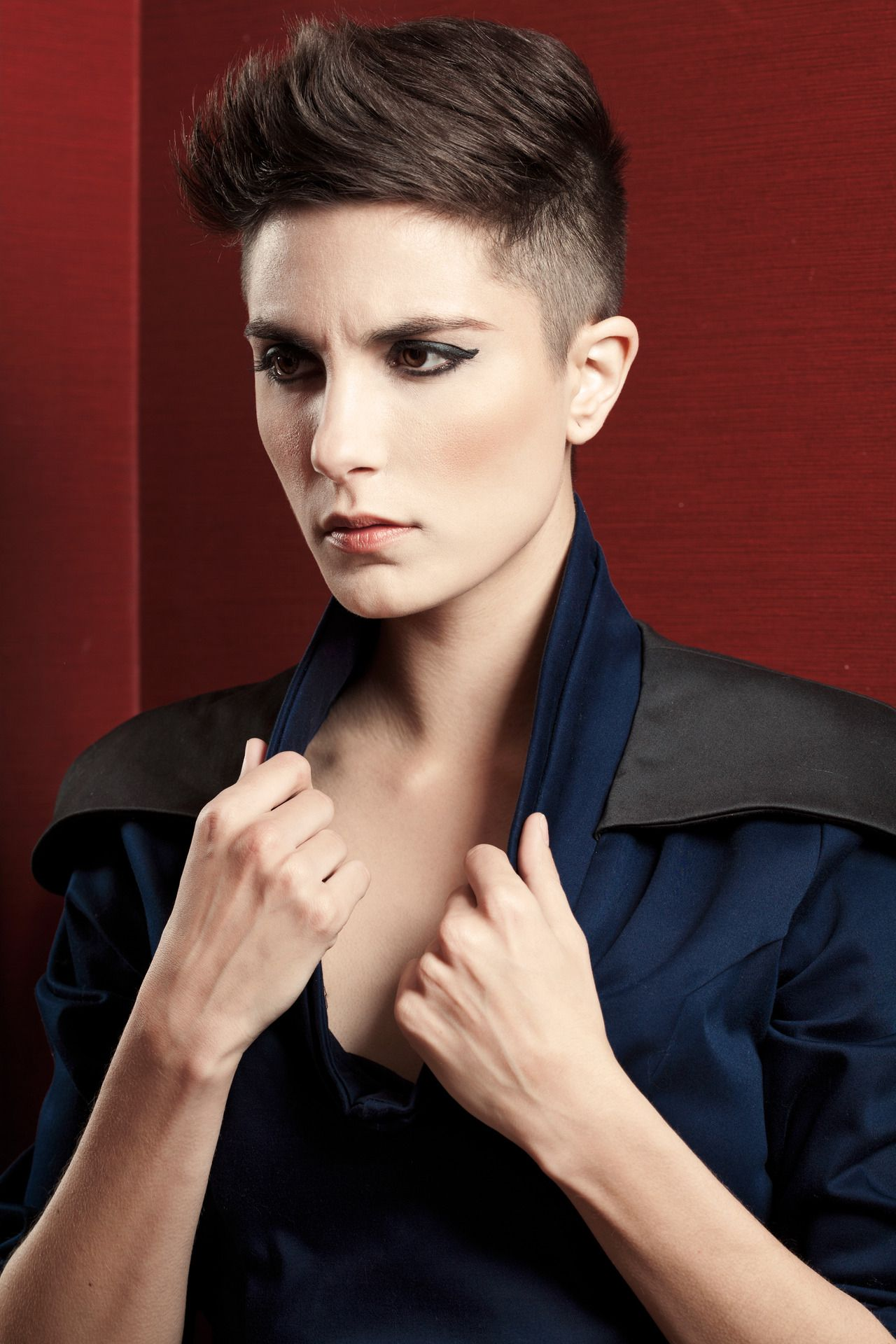 very short shaved pixie haircuts shaved sides pixie cool short hair pinterest shaved