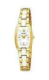 Pulsar Gold-tone Bracelet White Dial Women's watch #PEGF28