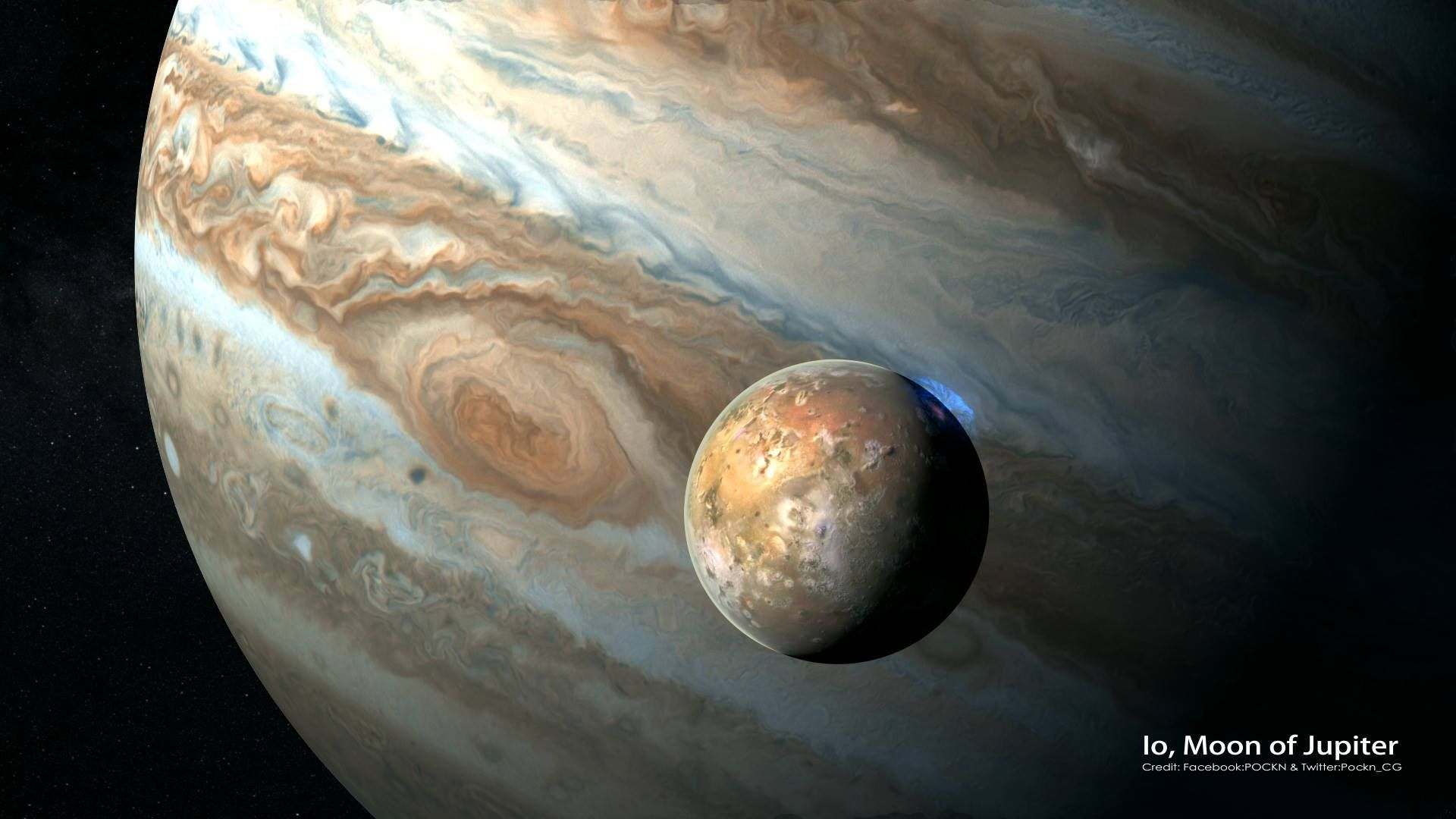 Real Pictures Of Jupiter From Space