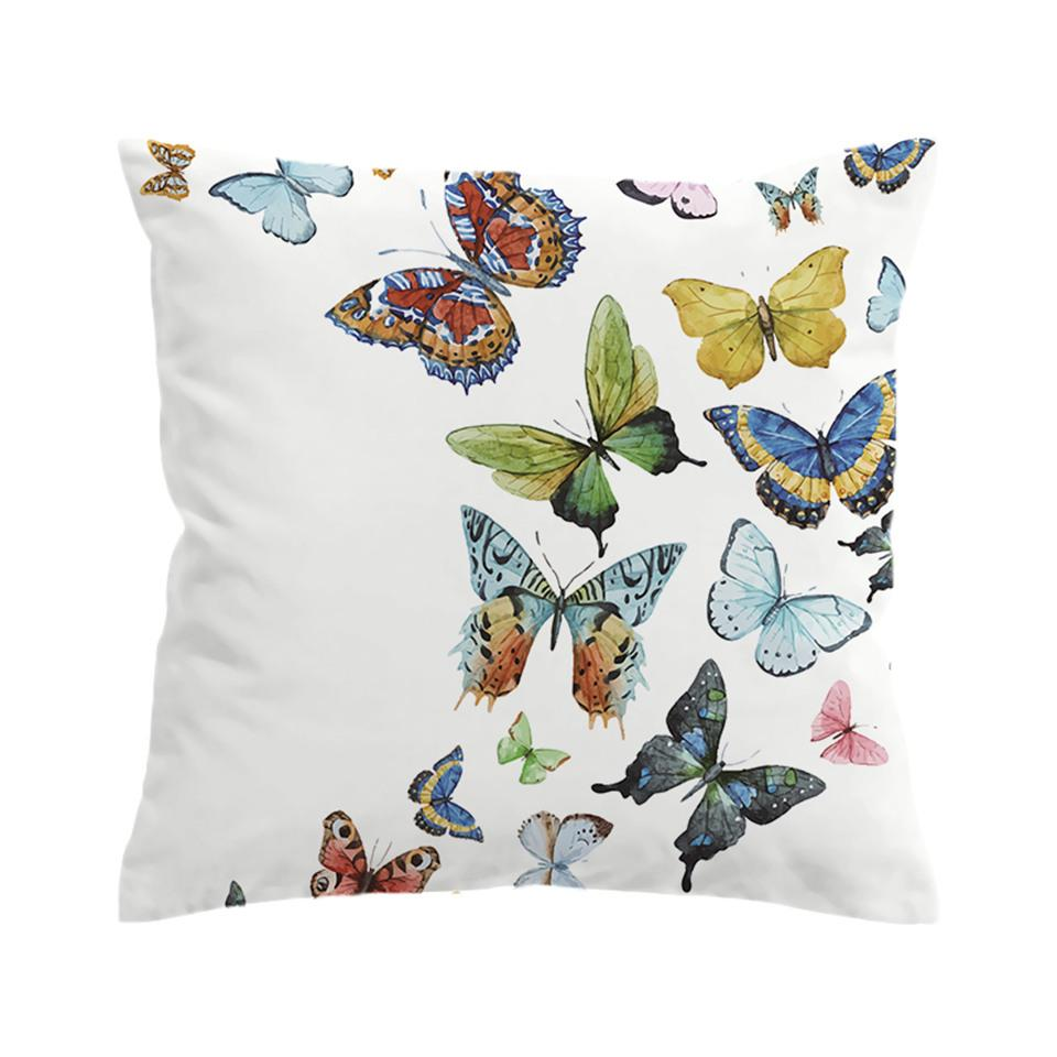 Butterfly Effect Pillow Cover Butterfly Throw Pillows Butterfly Cushion Butterfly Pillow