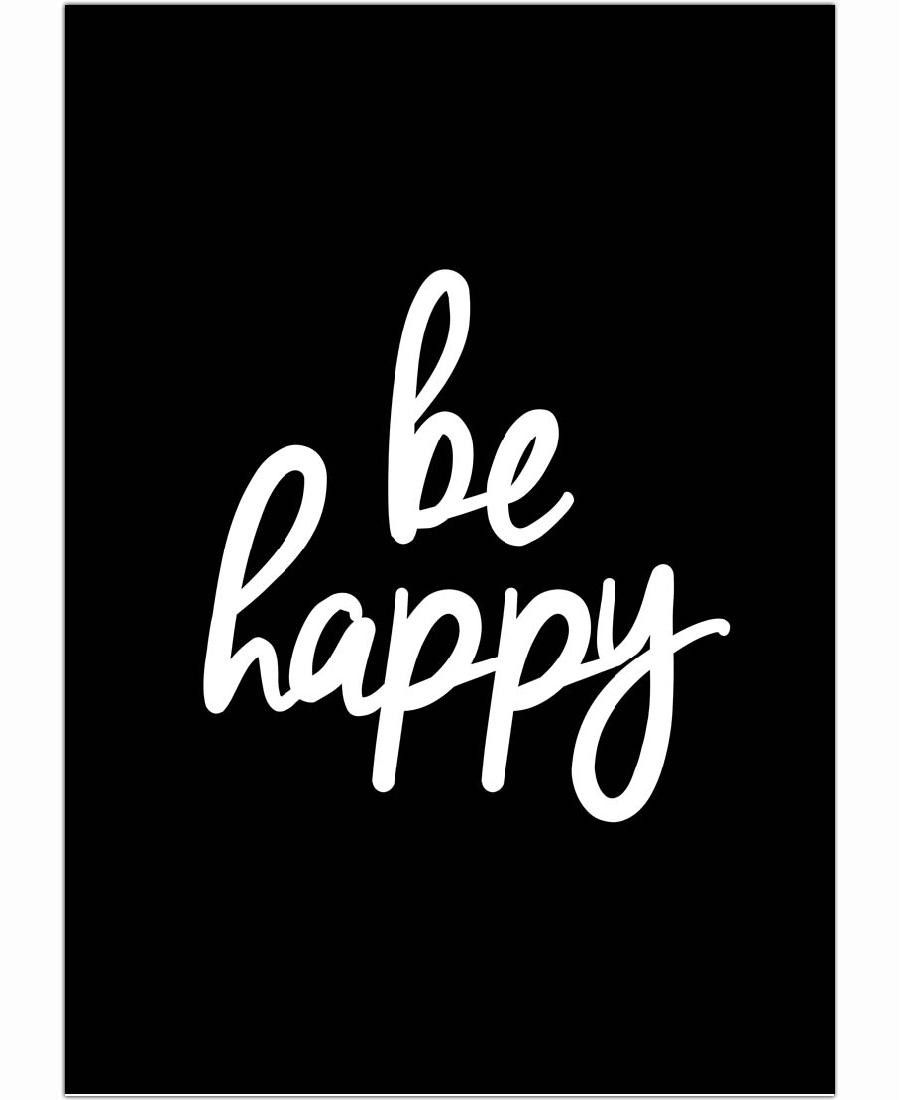 Be Happy of THE MOTIVATED TYPE now on JUNIQE!