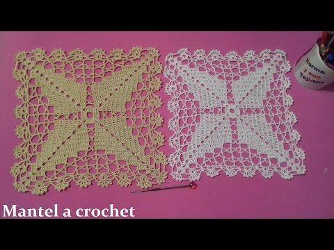 Mantel A Crochet Parte 1 Youtube Crochet Bedspread Bead Crafts Diy Crochet
