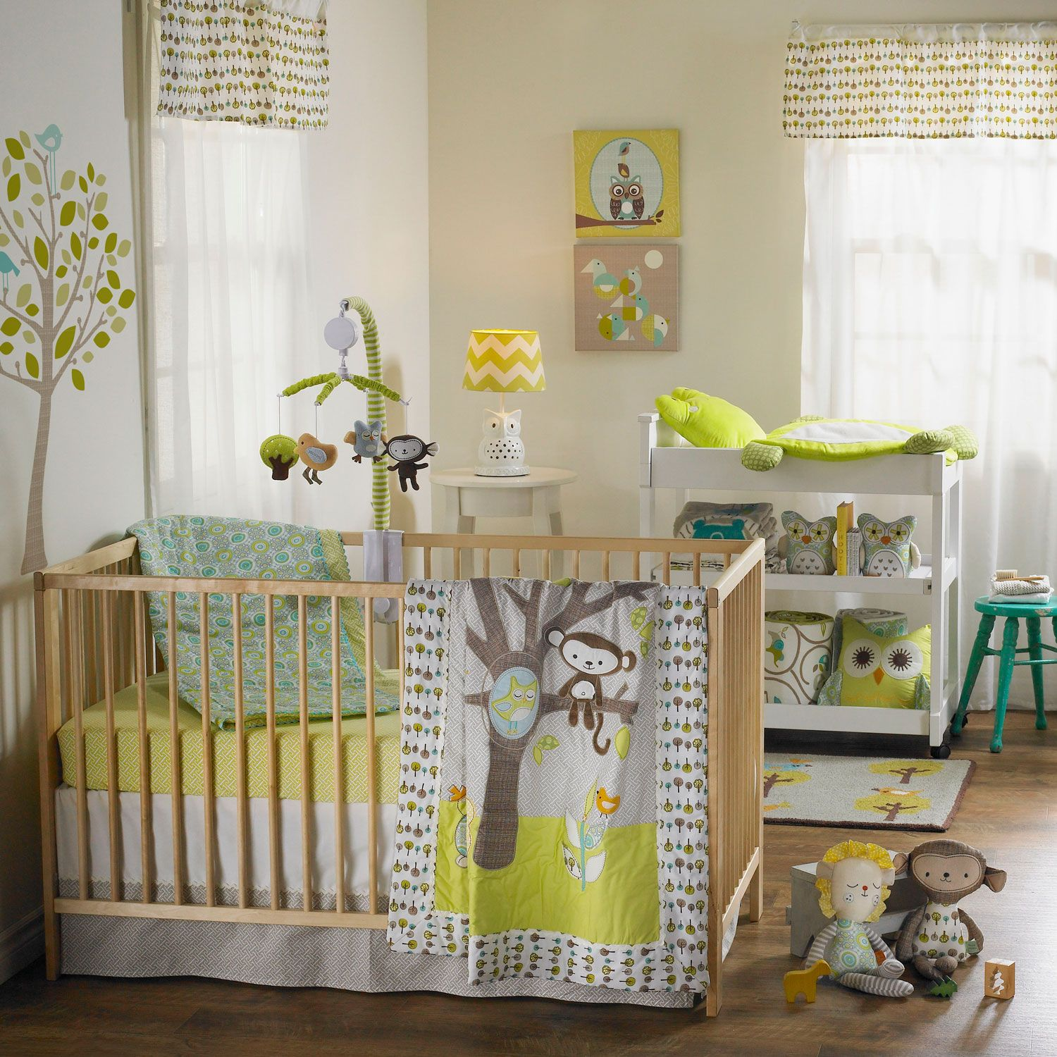 Animal Tree Baby Beddings Nursery Bedding Sets Crib Sheet And Accessories From Lolli