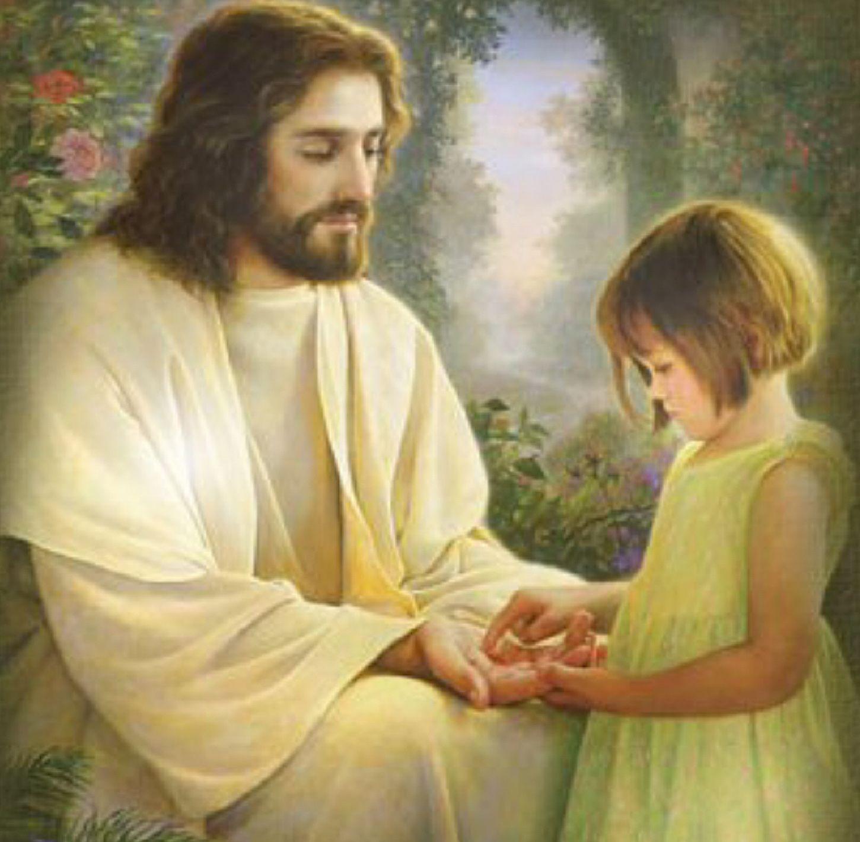 god loves his little children | Jesus Picture Loving ...