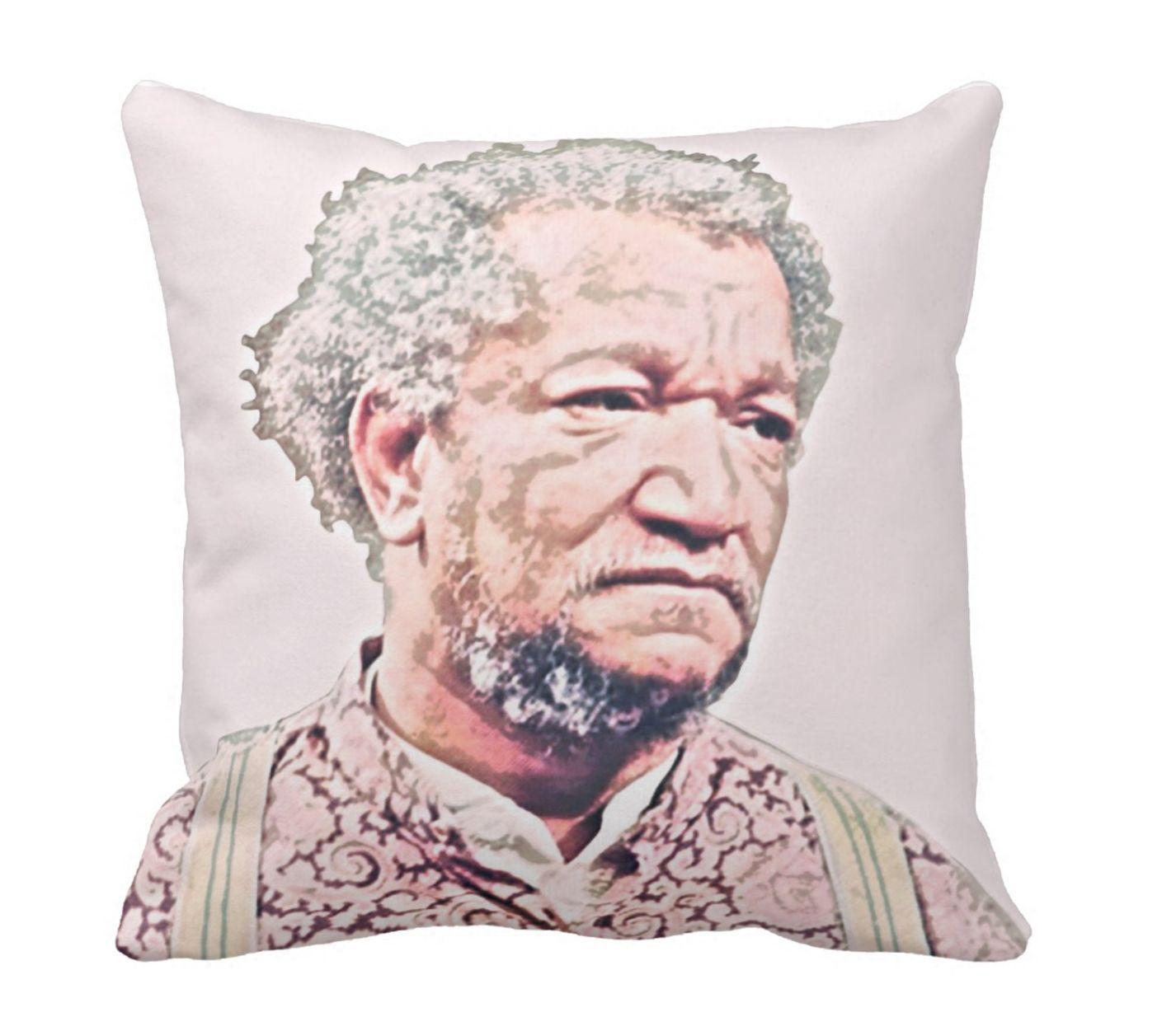 Fred Sanford Throw Pillow