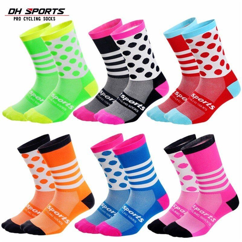 Men//Women Cycling Sports Ankle Socks Protect Feet Quick Dry Seamless Socks