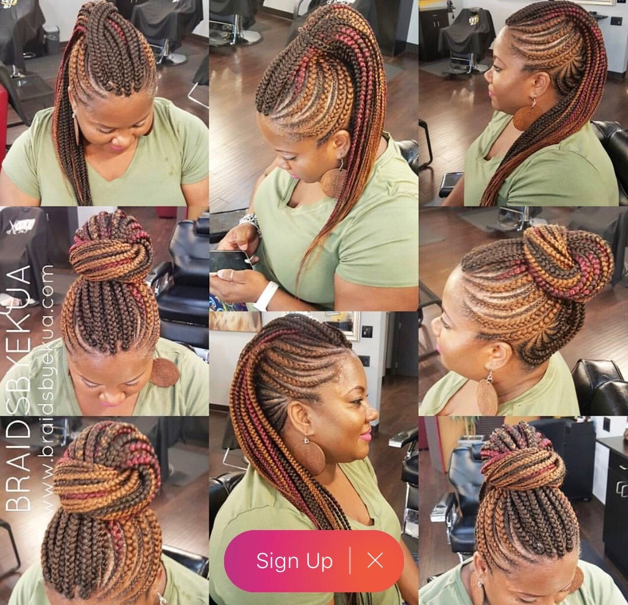 Pin by marsha box on black women braids pinterest african braids