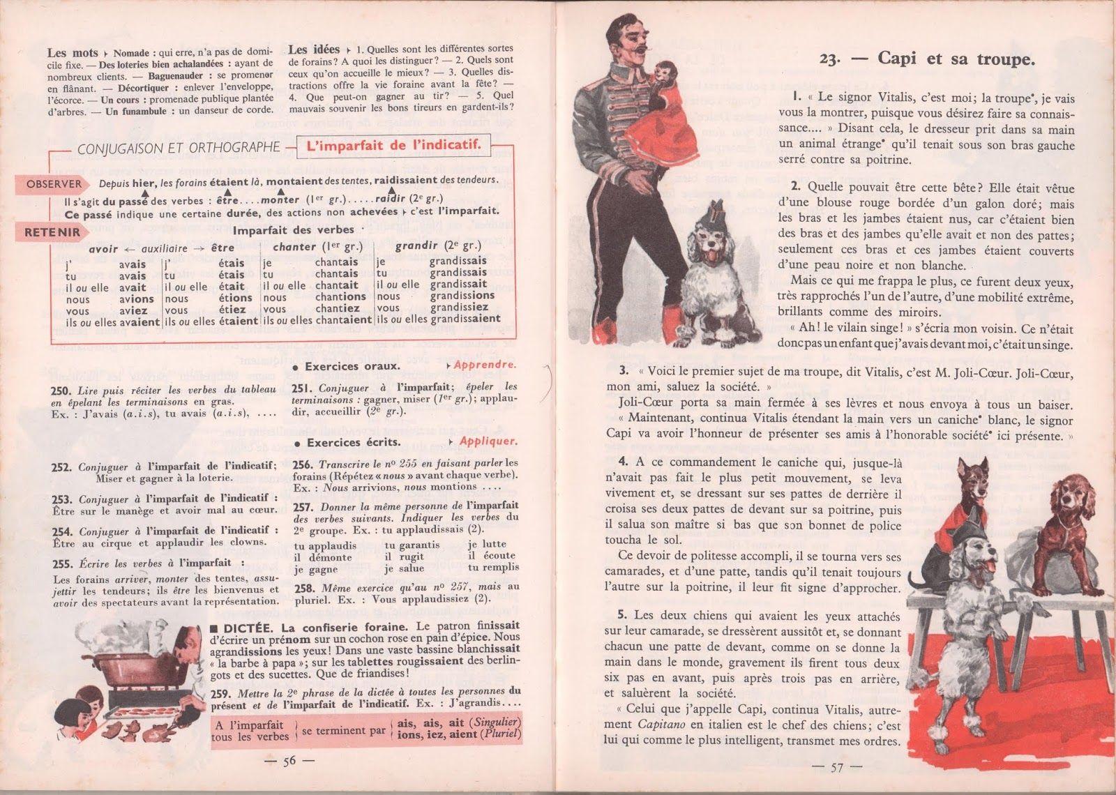 Dumas Collin Le Nouveau Livre Unique De Francais Cm1 1963 Grandes Images En 2020 Nouveau Livre Francais Cm1 Manuel Scolaire