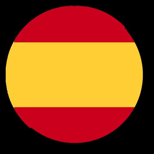 Spain Flag Language Icon Circle Ad Ad Affiliate Flag Circle Icon Spain Language Icon Business Card Template Word Spain Flag