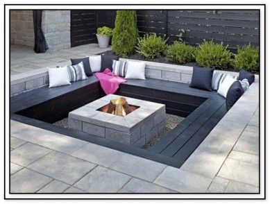 45 Backyard Fire Pit Ideas with Cozy Seating Area | Home Ideas