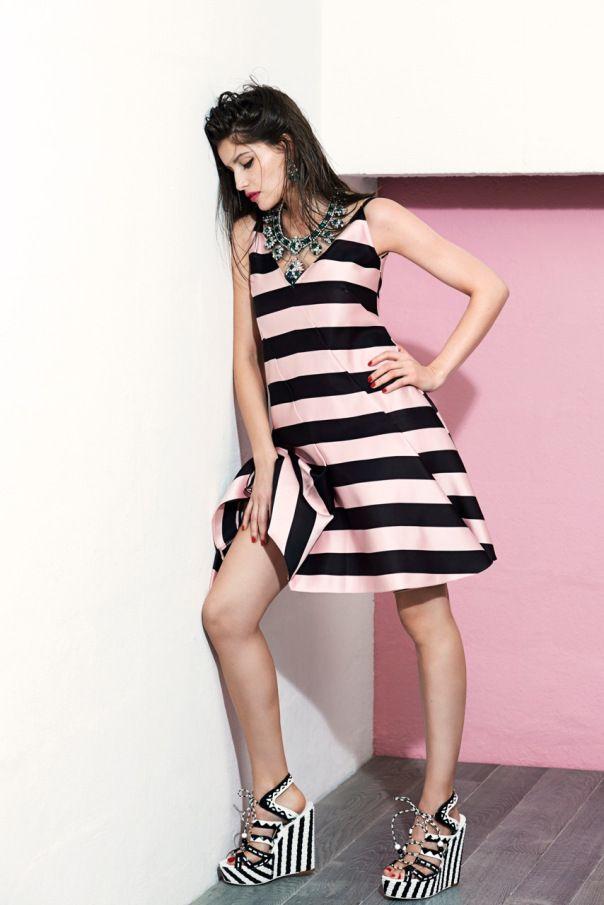 Laetitia Casta by  Eric Guillemain for Vogue Brazil