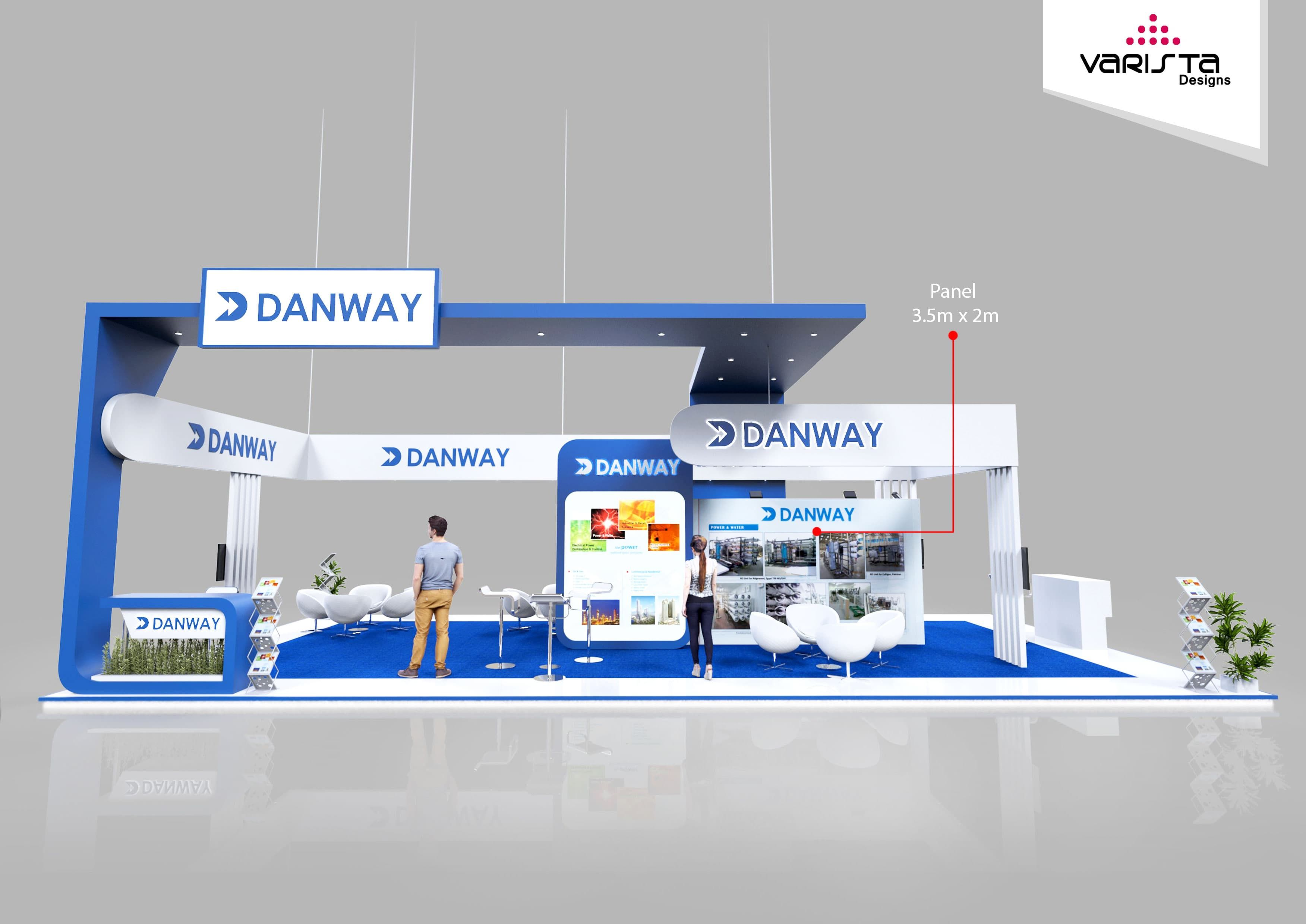 Design Your Exhibition Stand : Exhibition stand design proposal for danway be a part of your