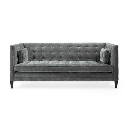 Inspired By Old Hollywood The Arhaus Clancy 86 Tufted