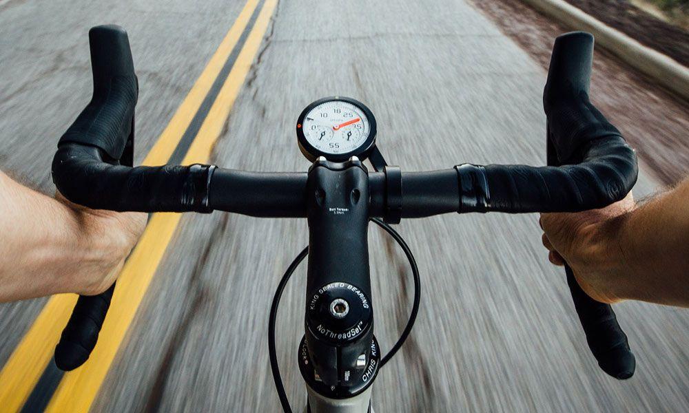 Omata One Analog Gps Speedometer Bicycle Bicycle Speedometer