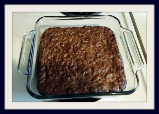 21 day fix zucchini brownies made with peanut butter