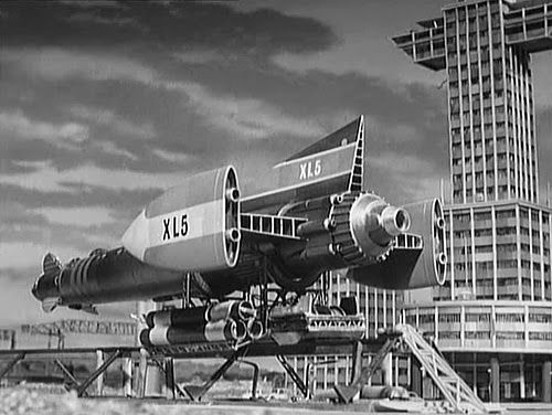 Fireball XL5  Gerry & Sylvia Anderson  Spaceship from the TV show with the same name!