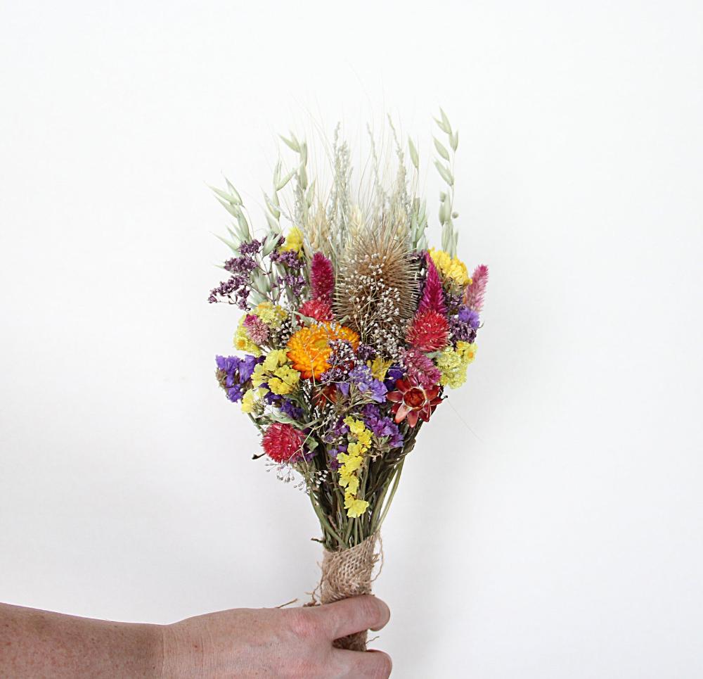 rustic flower bouquets natural flower decor dried flowers natural home decor Dried flower bouquet vase filler