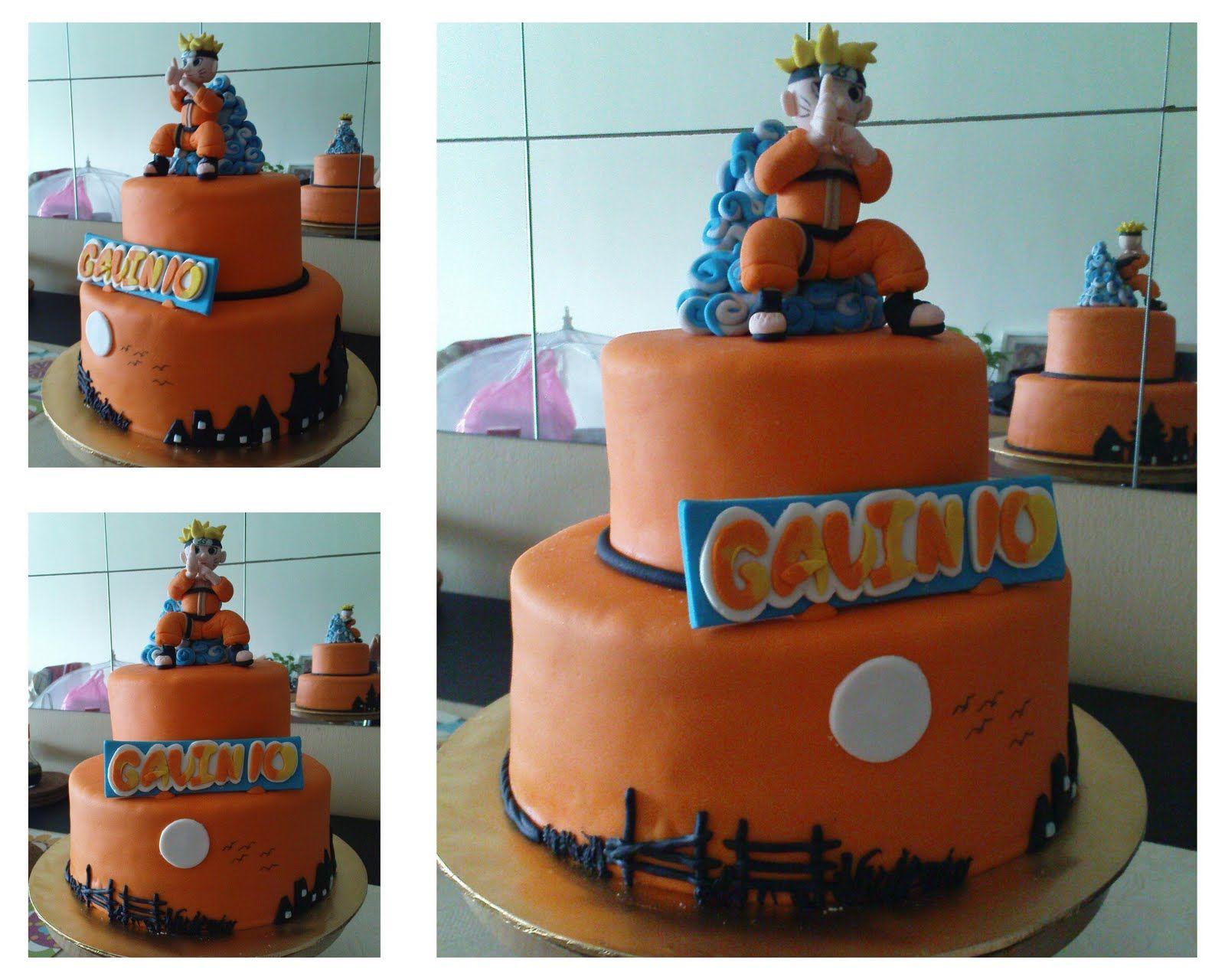 Cool Naruto cake Naruto cake ideas Pinterest Naruto