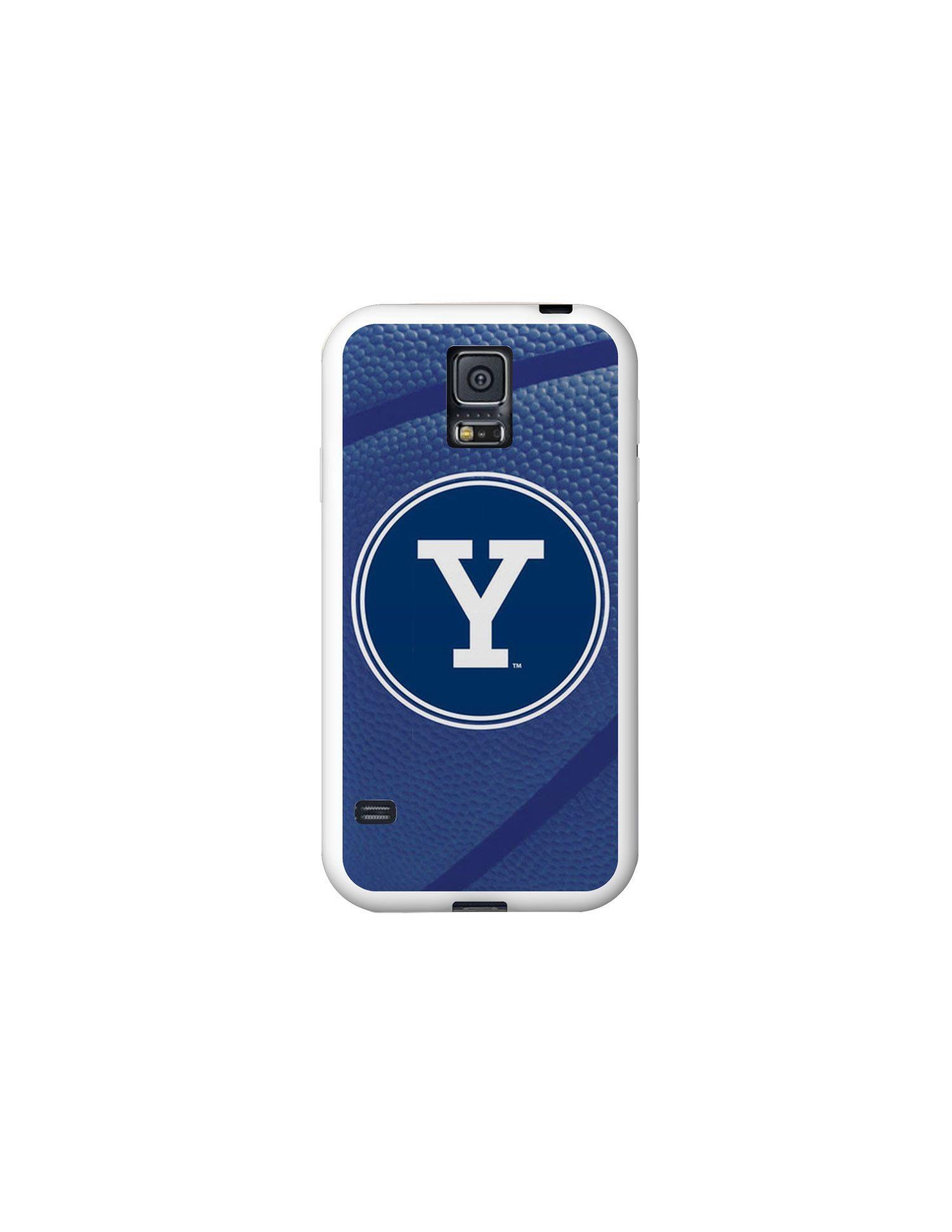 Yale University White Phone Case, Basketball V1
