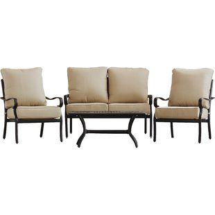 Lark Manor Pardue 6 Piece Sectional Set With Cushions Birch Lane