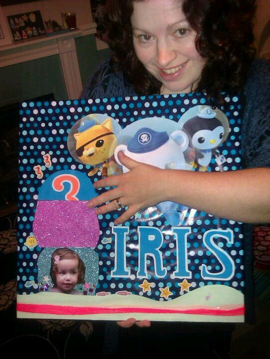 Iriss Cbeebies Card Things I Have Made Pinterest