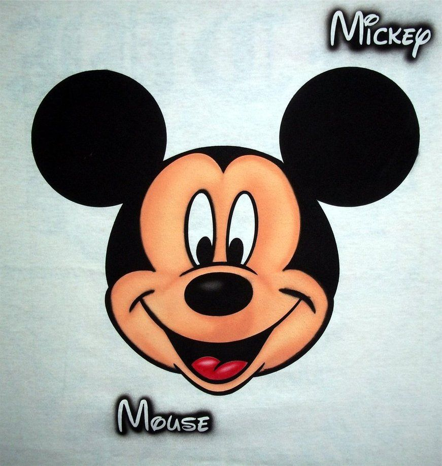 mickey mouse mickey mouse face by javiercr69 mickey. Black Bedroom Furniture Sets. Home Design Ideas