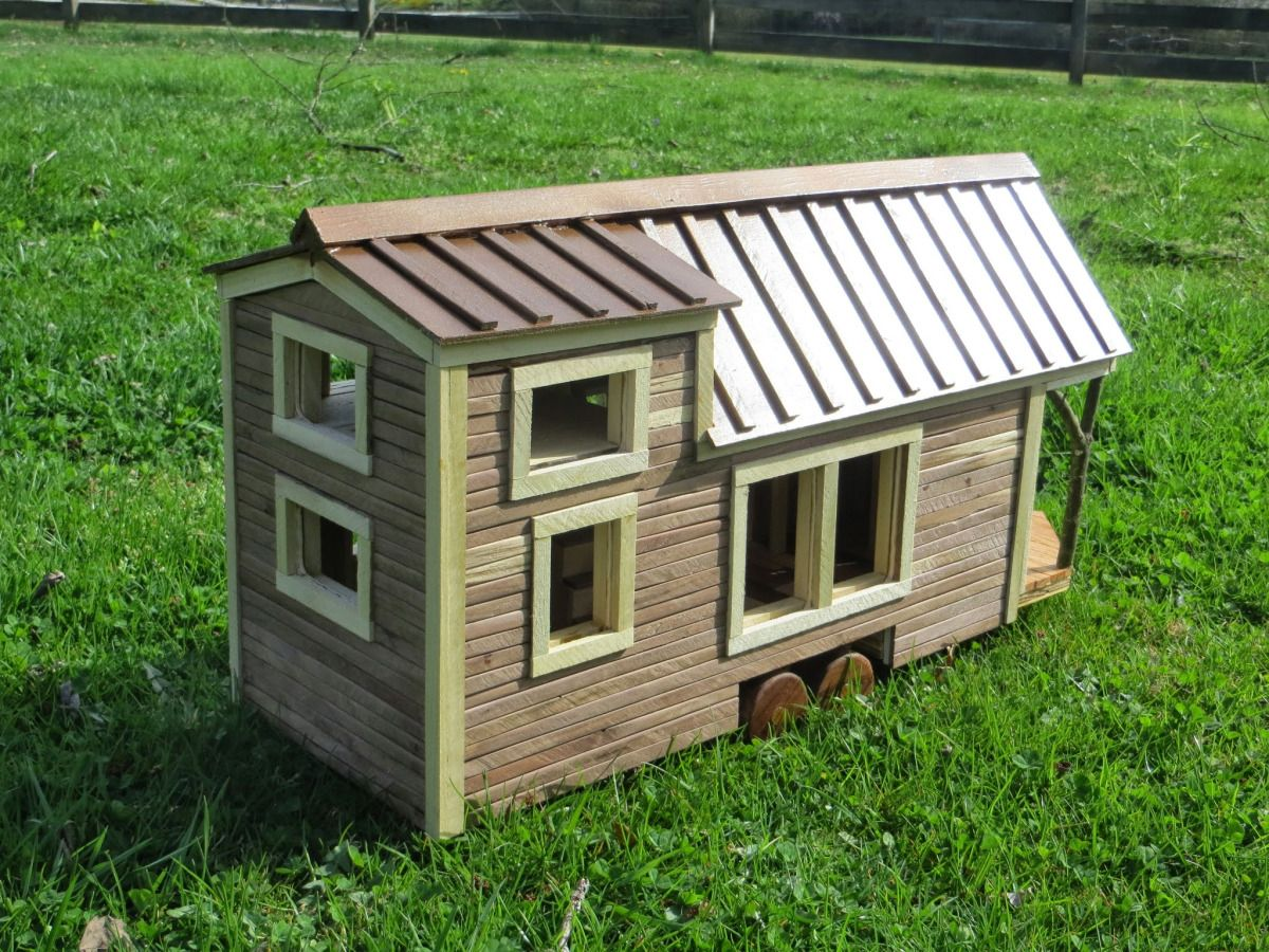 A Tiny House Model The Building Process