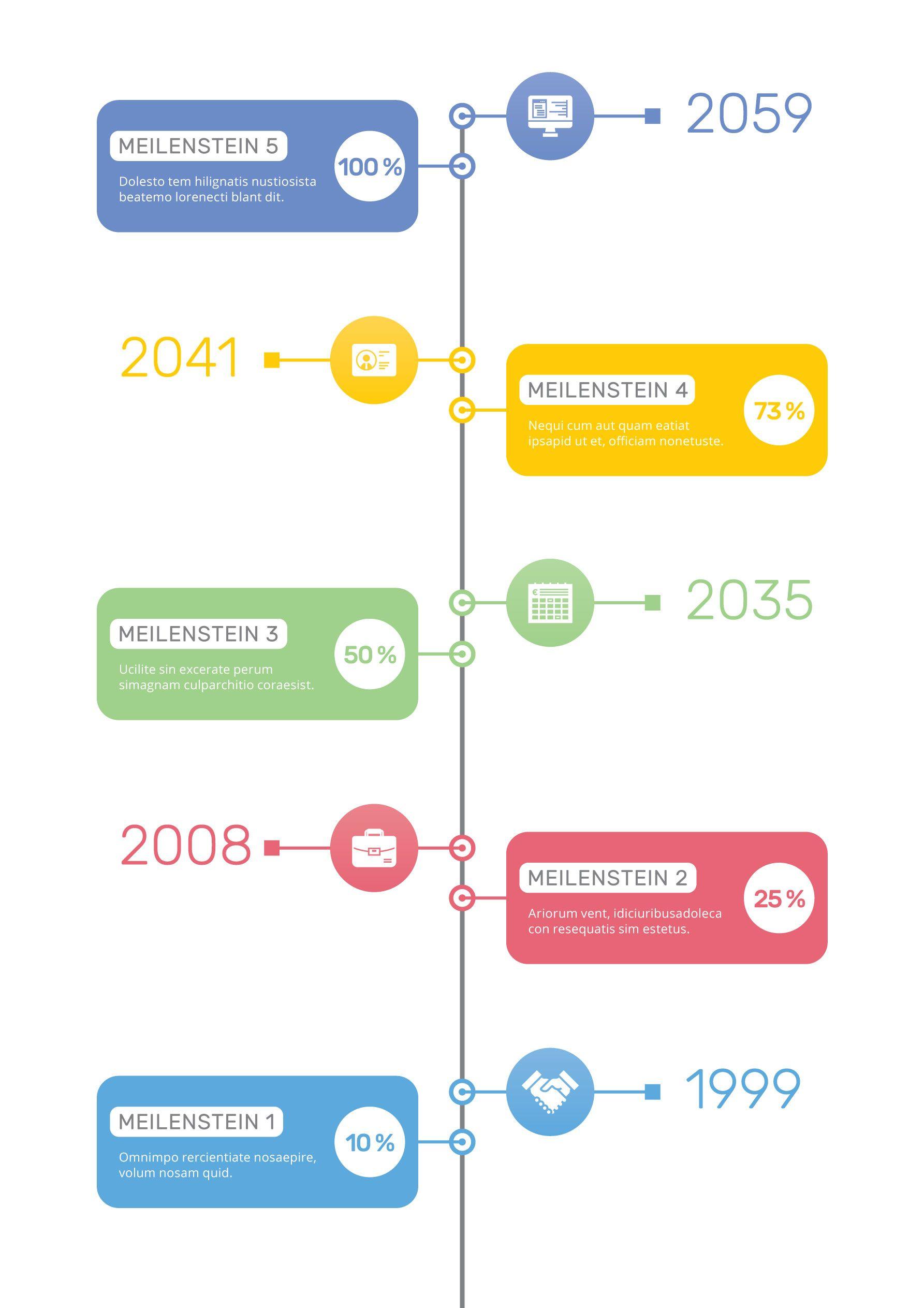 Zeitstrahl Vorlagen Moderne Timelines Erstellen Zeitstrahl Vorlagen Vektorgrafik Erstellen
