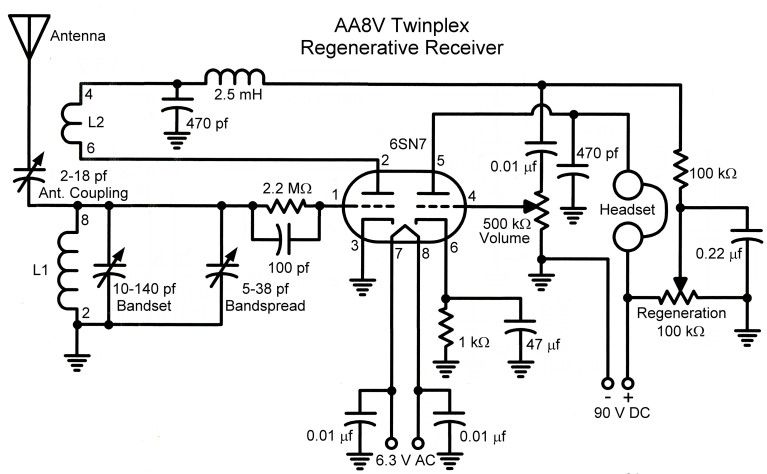 Twinplex Schematic | technology | Pinterest | Radios, Diagram and ...