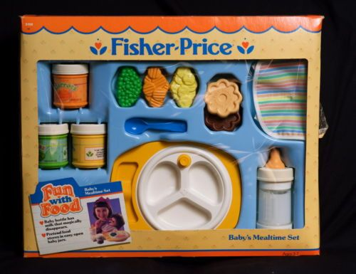 Fisher Price Toy Food : Fisher price fun with food baby s mealtime set nrfb