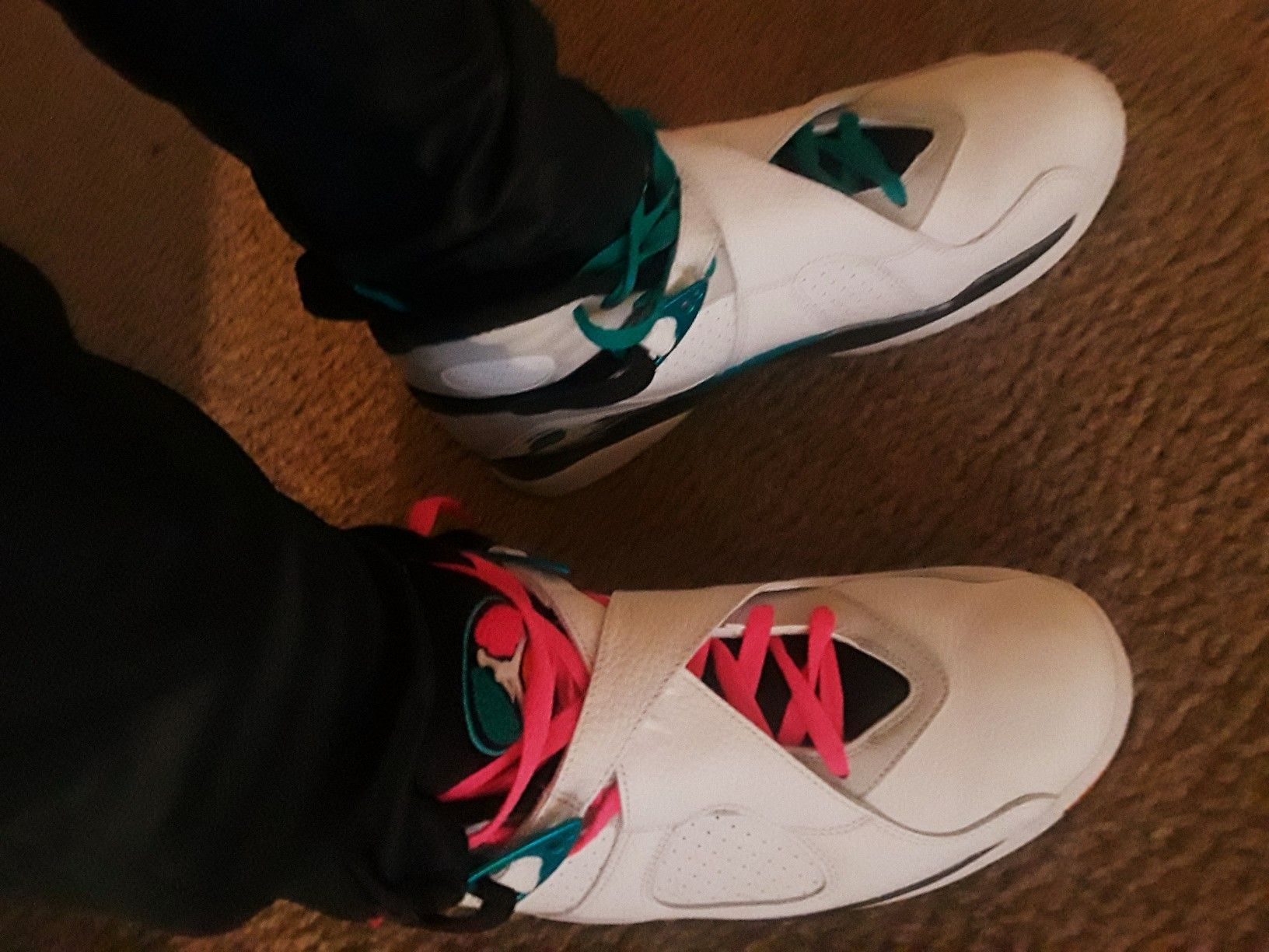 newest 4680c 761ca Here are the just released Jordan 8 Miami dolphins. You can find them at foot  locker.
