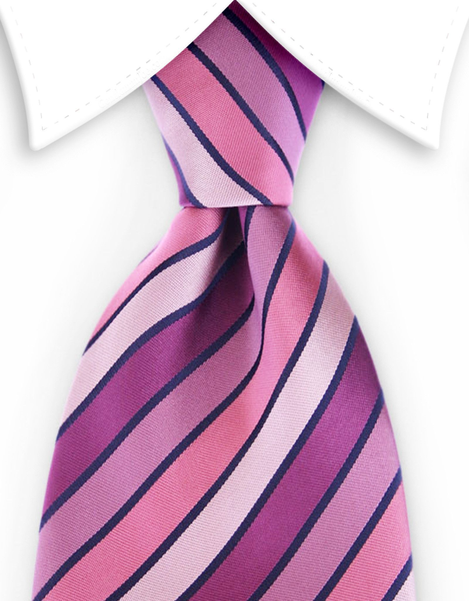 d45a463fabea Variegated Pinks and Purple Striped Tie   Products   Tie, Pink, Mens ...