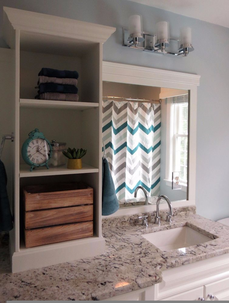 You might think a bathroom remodel is expensive but this homeowner