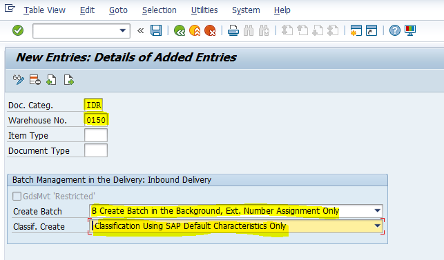 How to Fetch Country of Origin Field from ERP to EWM for