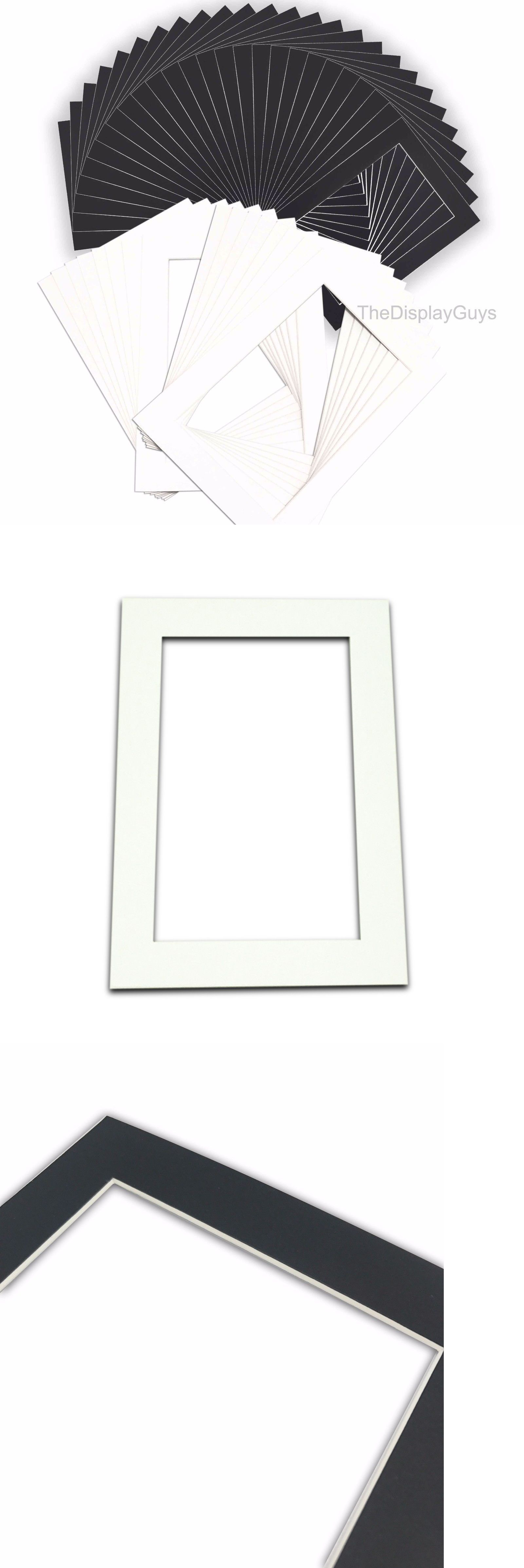 Framing Mats 37576 25pcs Black White Mat Matting Board 8x10 11x14 Inch For Art Picture Photo Frame Buy It Now Only 21 99 On Art Pictures Picture Photo Frame