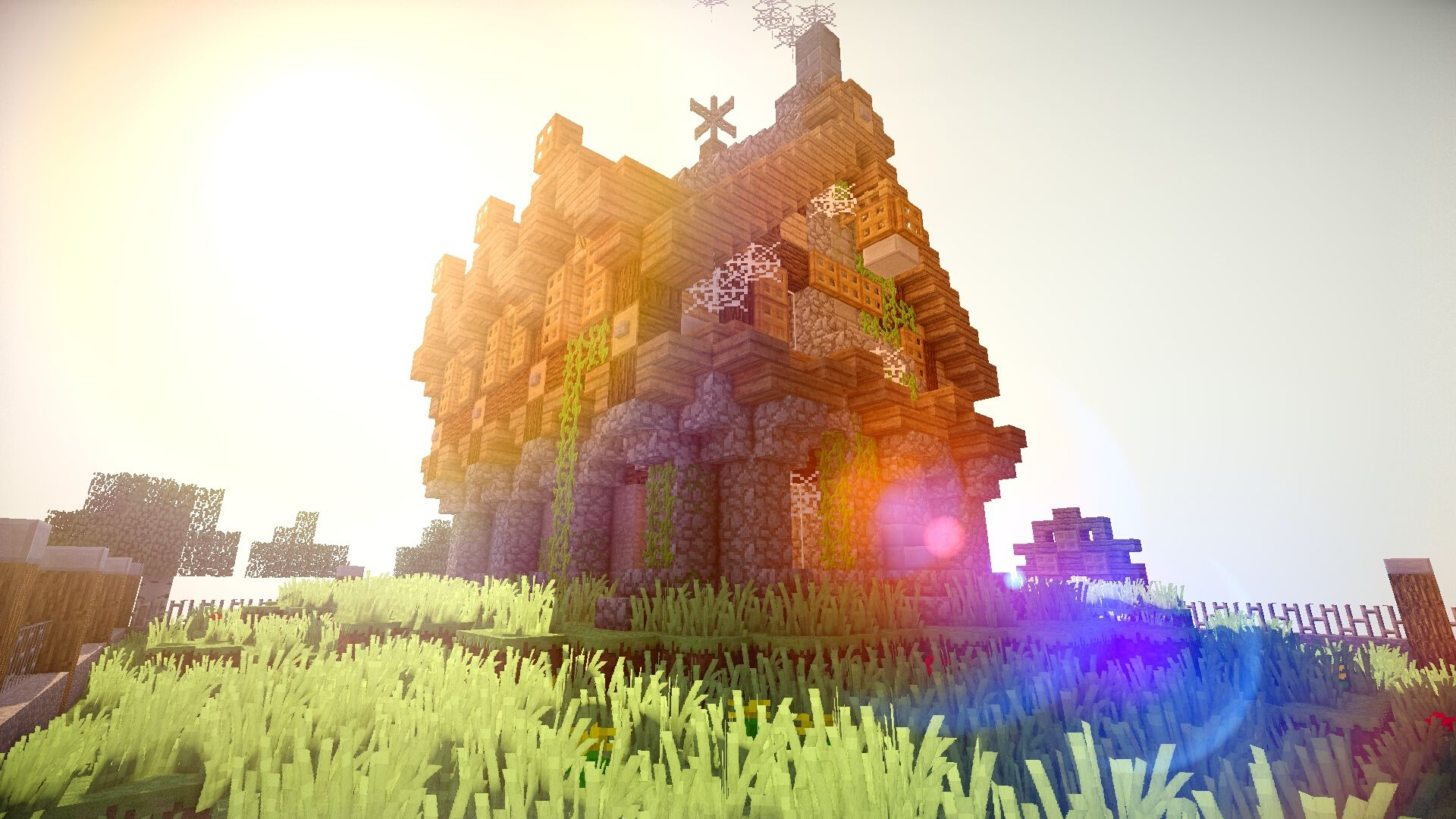 Minecraft Shaders Wallpapers