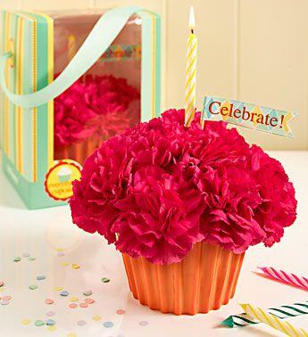 Simple but cute arrangement of carnations
