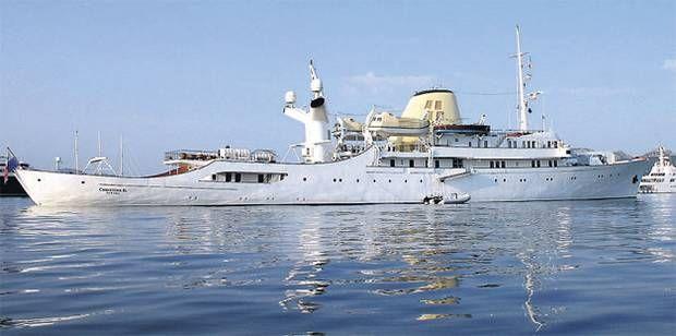 "Onassis Yacht ""Christina O "" | Luxury Yachts | Classic"