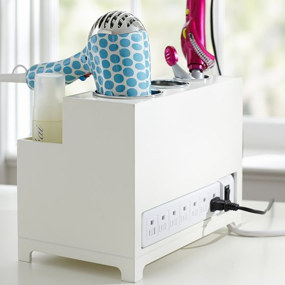 Web Image Gallery Vanity Plug un Style Hair Accessories Organizer Insanely Cool Makeup Organizers From Pinteres Seriously Chic Ways to Decorate Your Vanity Makeover