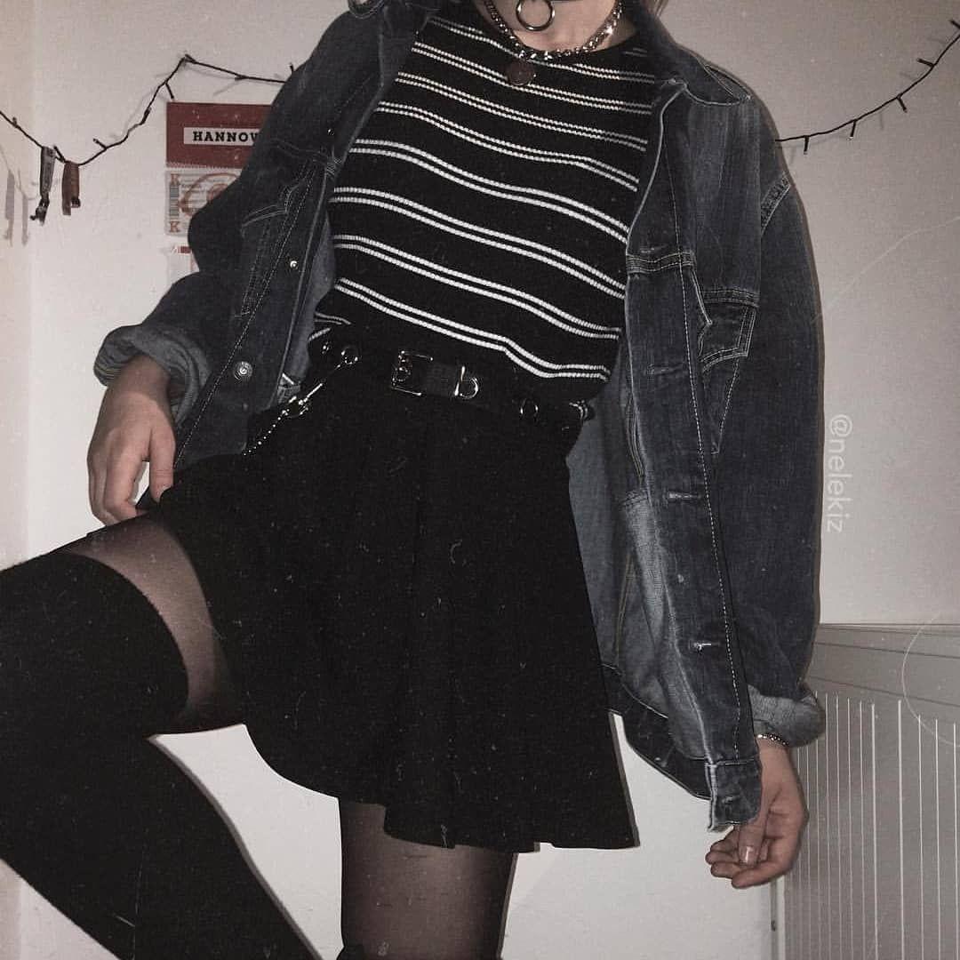 1 2 Or 3 Credit Nelekiz Grunge Girl Tumblr Social Like Beautiful Followme Ootd Outfit Alternative Roc Grunge Outfits Korean Fashion Fashion