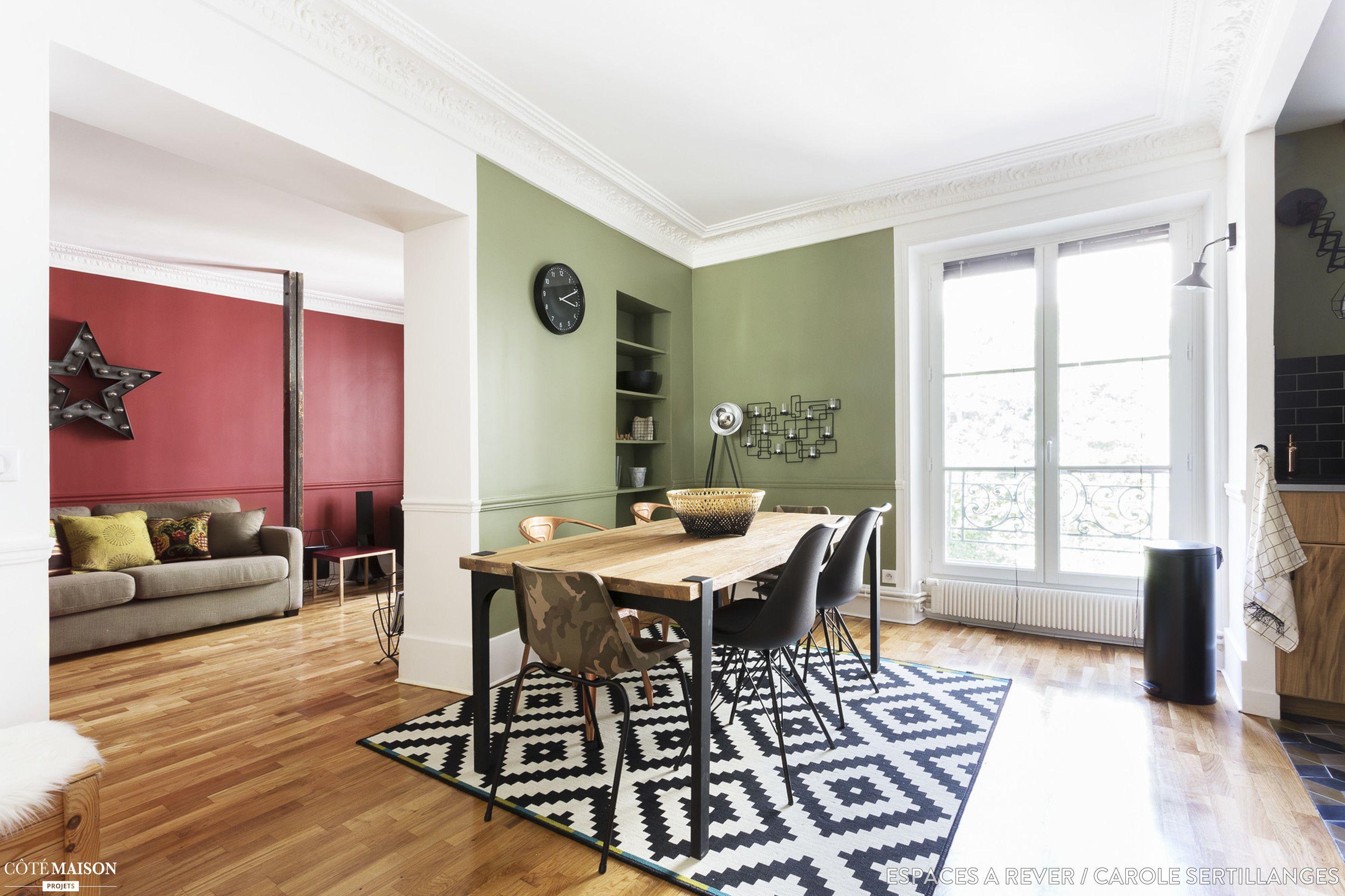 Appartement Haussmannien Industriel Chic Et Moderne M - Deco haussmannien moderne pour idees de deco de cuisine